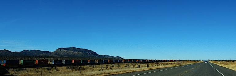 On the way to Marfa with Train - American Series
